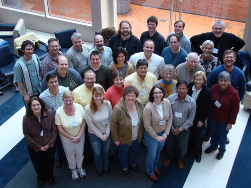 Group Photo from the 2008 ASM/BioQUEST Bioinformatics Institute