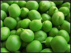 A photo of Peas (P's)