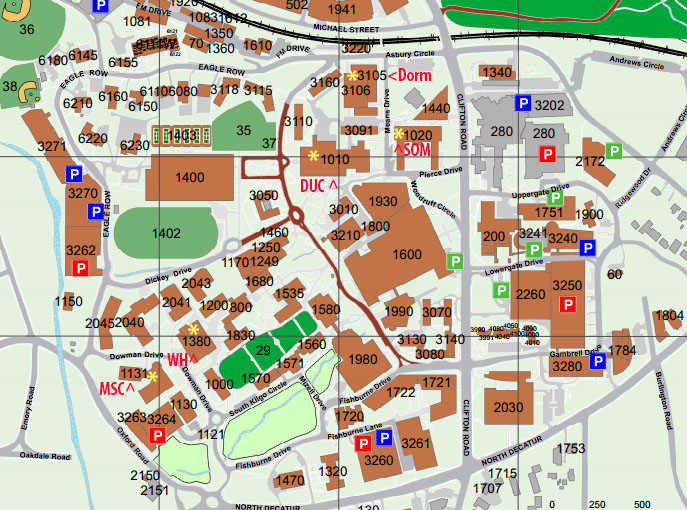 Bioquest Curriculum Consortium Schedule: Map Of Georgia Gwinnett College At Usa Maps