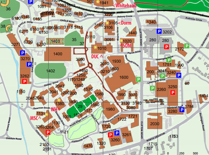 Georgia Gwinnett College Campus Map.Bioquest Curriculum Consortium Schedule